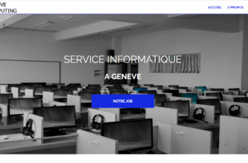 informatique à Geneve