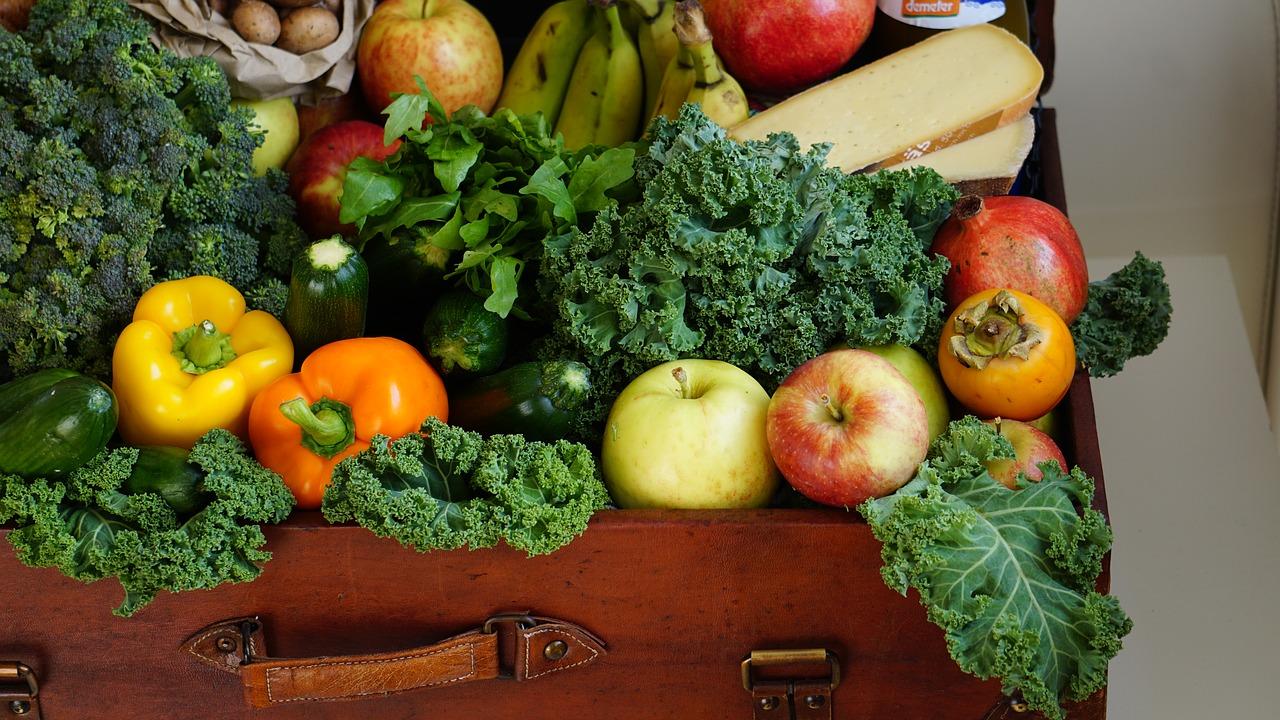 les légumes et les fruits minceurs